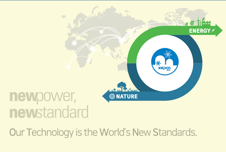 Our Technology is the World's New Standards.