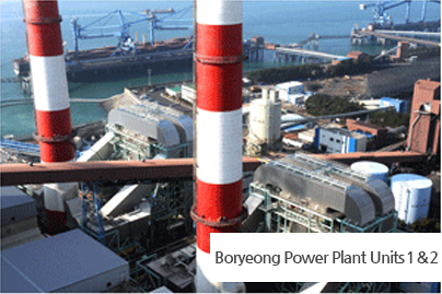 FGD System at Boryeong Power Plant Units 1 & 2